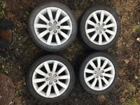"""16"""" Genuine Audi a1 Alloy Wheels 16 inch"""
