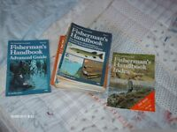 FULL SET MARSHALL CAVANDISH FISHERMANS HANDBOOKS