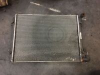 2006 SEAT ALHUMBRA TURBO DIESEL RADIATOR PACK USED AS SHOWN IN PICTURES
