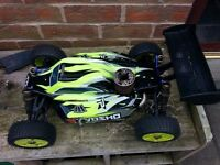 3x Rc Nitro trucks for sale. Kyosho and HPI