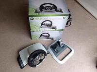 2 Xbox 360 racing wheels