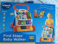VTech baby walker in box £10