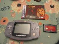Nintendo game boy advance + 1 game