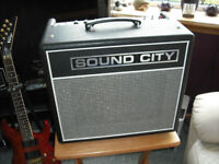 Sound City SC 20C All Valve Guitar Amplifier Combo Upgraded New JJ Valves