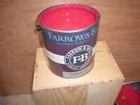 Farrow and Ball Emulsion.