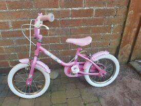 Girls Bike made by Raleigh