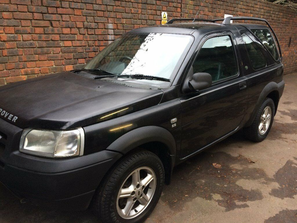 2002 Land Rover Freelander 1.8 ES Petrol, manual, long MoT to Dec 2018 (