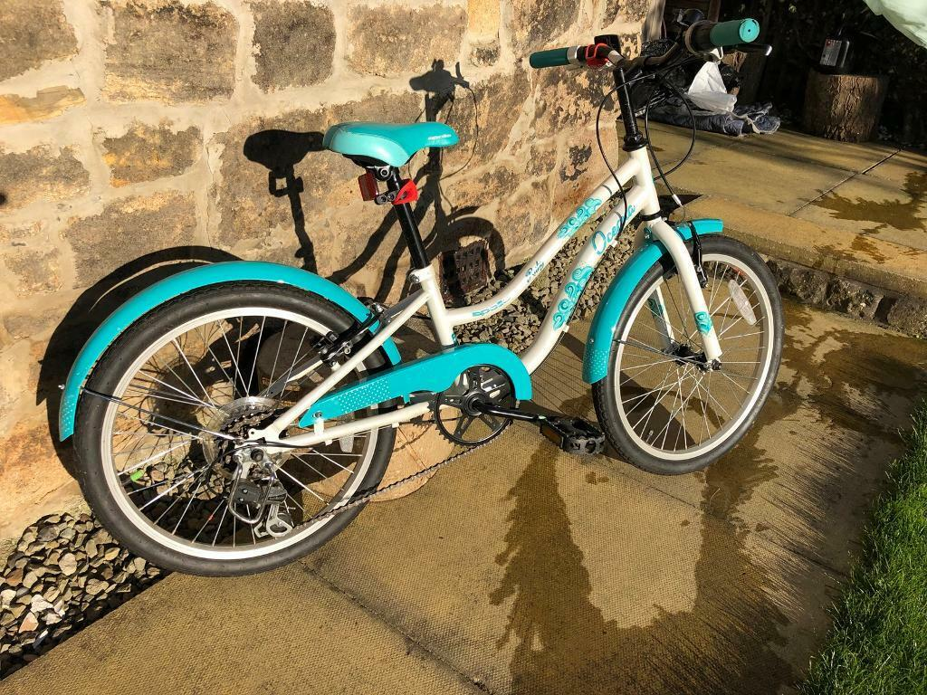 4b645670176 Apollo Oceana Girls Kids Childrens Hybrid Bike 6 Speed 20