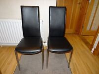 Two kitchen chairs for sale