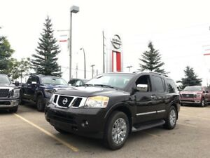2015 Nissan Armada Platinum NAVIGATION LEATHER  7 PASSENGER