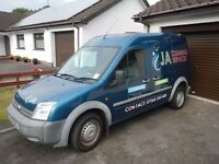FORD TRANSIT CONNECT 2008 LWB-LX-T230 TDCI (PS 110)**NO VAT**