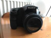 Sony ax77 mark 2 plus 5 lenses and lowpro tuck sack