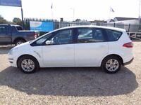 FORD S-MAX 1.6 TDCi Zetec 5dr (start/stop) (white) 2014