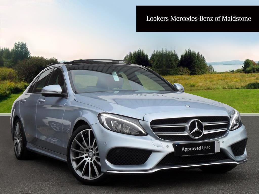 Mercedes-Benz C Class C250 D AMG LINE PREMIUM (silver) 2015-09-03