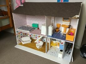 Large Dolls House. In need of a good home and TLC