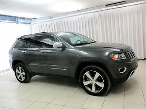2015 Jeep Grand Cherokee LIMITED 4x4 SUV w/ HEATED LEATHER, NAVI