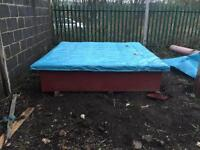 Fencing Panel dipping tank with draining tray (custom made) £300.00 nearest offer.