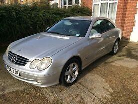 FULLY LOADED Mercedes-Benz CLK 270 CDI Elegance - Sat Nav, Keyless Func.+More!!