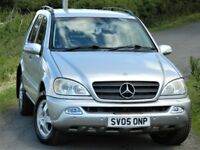 (2005) MERCEDES BENZ M CLASS ML270 CDI 5dr Tip Auto- 12 MONTHS MOT -FULL SERVICE HISTORY - LEATHER