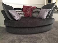 Two seater cuddle sofas