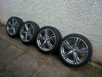 BMW 19 inch alloy wheels, style 407