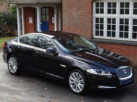2012 (62) Jaguar XF 2.2 TD Portfolio 4dr - ONLY 42,000 MILES - HUGE SPECIFICATION