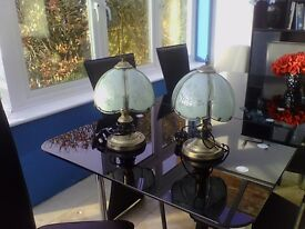 TIFFANY TOUCH LAMPS - REDUCED PRICE!!! £10 EACH OR 2 FOR £18