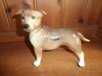 Coopercraft Staffordshire Bull Terrier Figurine