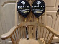 Pair Carlton Badminton Rackets Power Blade C300