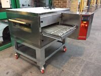 """COMMERCIAL CATERING 21""""GAS CONVEYOR BELT PIZZA OVEN FAST FOOD RESTAURANT KITCHEN TAKE AWAY SHOP"""