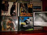 Around 70 RARE and collectable CDs - U2, Radiohead, Joy Division, Springsteen, Blur