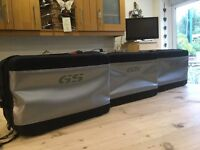 BMW R1200GS vario pannier and top box inner bags