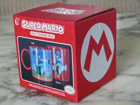 Brand New Super Mario Heat Changing Reverse Design Mug