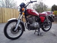 Classic Suzuki GS 250 T Twin Barn Find Low Mileage Long Mot Delivery Available, Cafe Racer