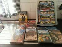 Western and action dvds.35 films