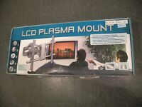 LCD plasma tv mount for wall hanging and in fantastic condition box heavy dutie