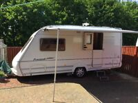 2 Berth touring Caravan with motor mover.2Awnings.Bargain price