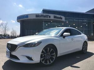 2016 Mazda MAZDA6 GT LEATHER, SUNROOF, NAVIGATION, BOSE, LED LIG
