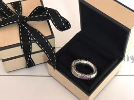 Links Of London Sapphire Sweetie Ring With Box