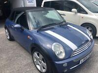 Mini Cooper, Convertible, 2005, Semi-Auto, 1598 (cc), 2 doors VERY LOW MILES DEPOSIT NOW TAKEN