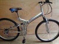Samchuly fold up mountain bike