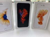 iPhone 6s unlocked boxed warranty