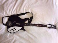 Beatles Rockband Rickenbacker 325 Guitar xbox 360 controller RARE