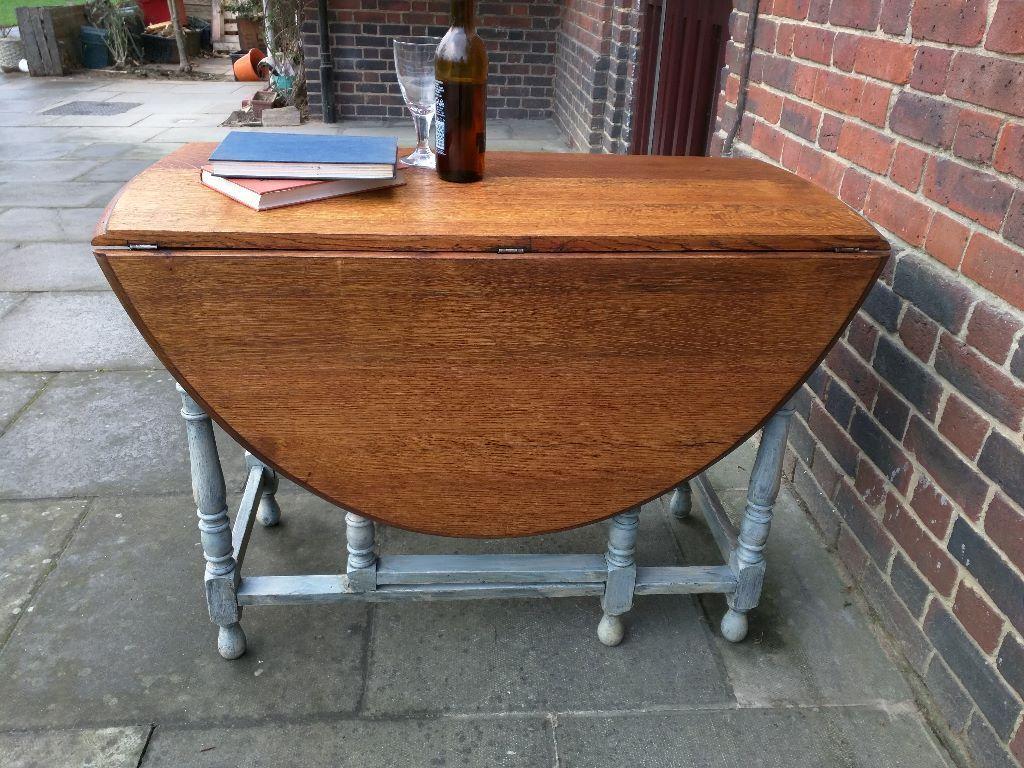 Vintage Oak Dining Table Vintage Oak Rustic Dining Table Drop Leaf Butterfly Gateleg Style