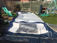 Bradcot awning with annex no inner tent size 825/850