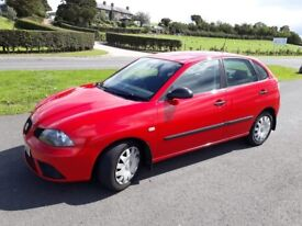2006 Seat Ibiza, red, clean car (not peugeot audi ford renault vw)