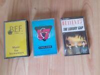 3 x heaven 17 - cassettes music for stowaways