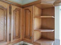 Complete Set of Solid Wood Kitchen Units Plus Appliances