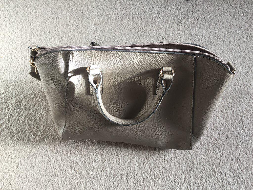 Large Beige Handbag