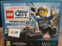 Wii U, Limited Edition Lego City Undercover Premium Pack